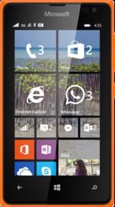 Lumia-435-specs-orange-png
